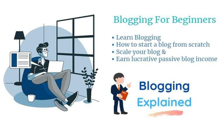 Blogging for beginners (in 2021): How to Start and Grow a blog that makes passive income