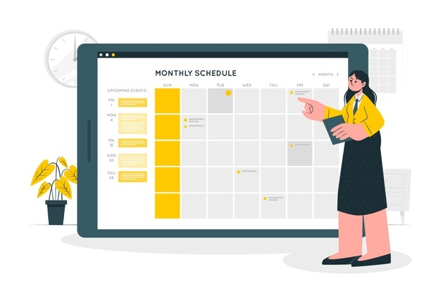 Schedule blog posts - Blog writing tips for beginners